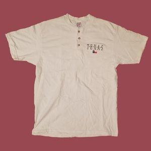 Vintage Embroidered Texas Shirt